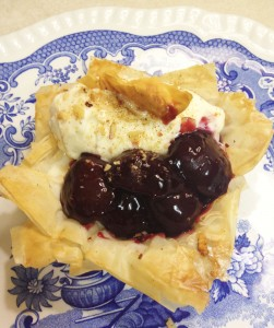 Mini Cherry Phyllo Pie – Springs Value section, the Gazette