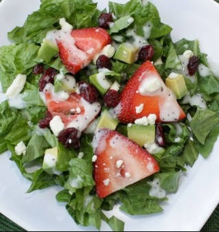 Strawberry Poppyseed Salad copy