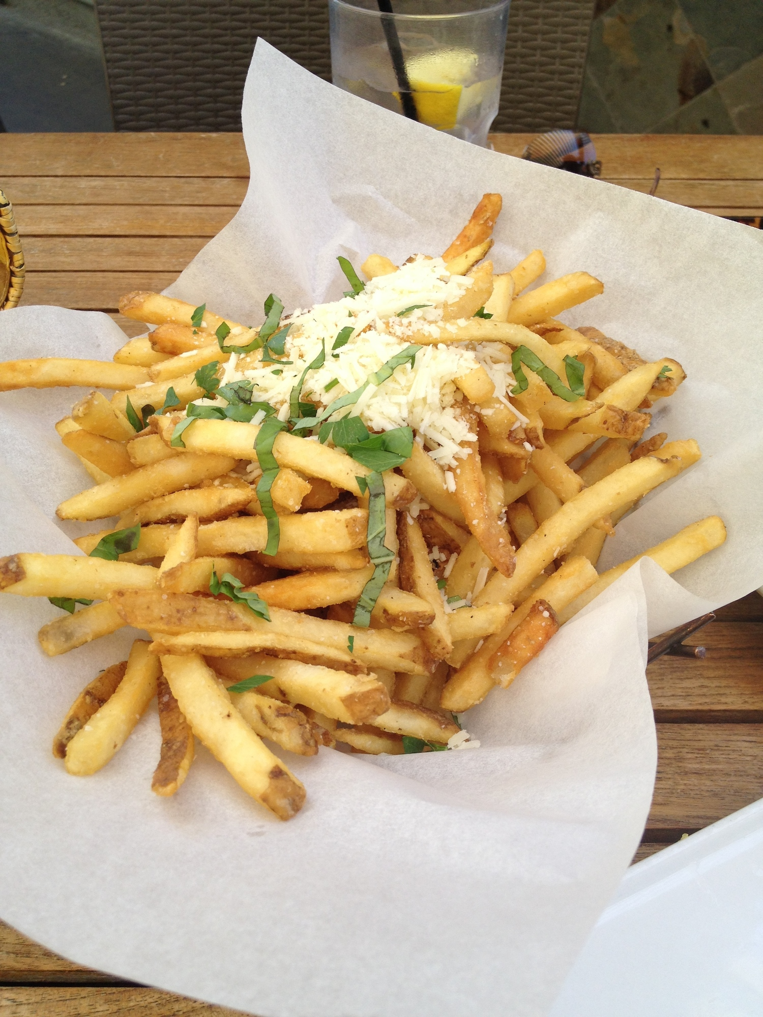 Public House Restaurant, Lemon Truffle Fries