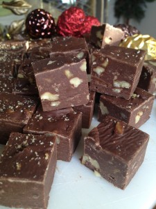 Christmas Fudge -Semi-Sweet