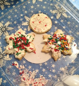 Sugar Cookies for Christmas