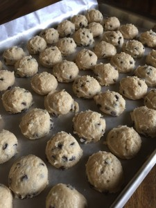 Chocolate Chip Cookie Truffles