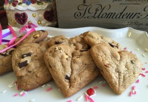 Salted-Toffee Chocolate Chip Cookies
