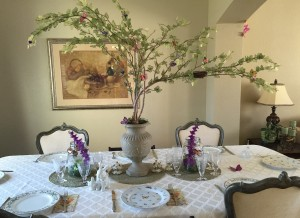 Easter - Table Setting