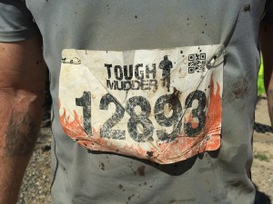 Tough Mudder Badge number