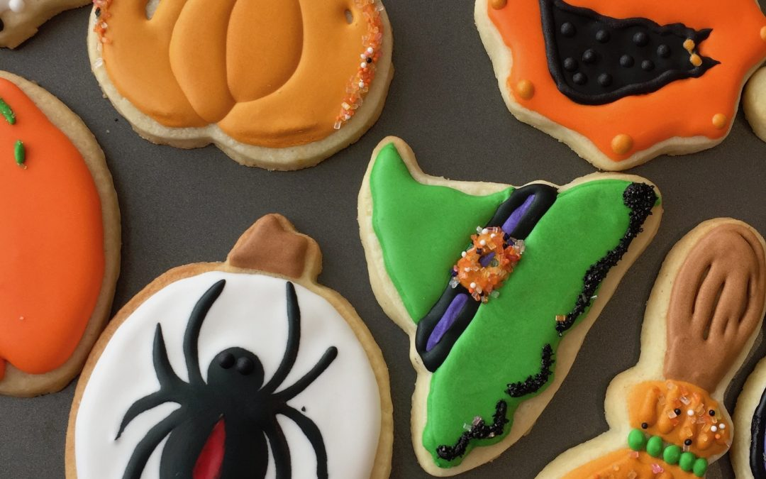 "Halloween Cookies for the ""Boss"""